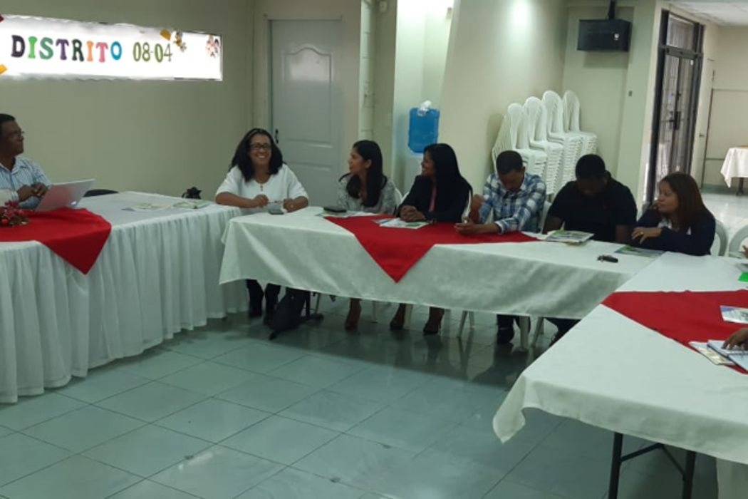 "Coordination meetings begin for the creation of the ""Environmental Awareness Days"" in the Barrio Santa Lucía, Dominican Republic"